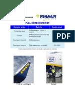Ryanair - Publicidade Exterior
