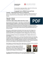 PIMS Panel and Book Launch 6 March 2014-1