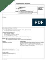 Arbeitsplanung mit Begründung (2)