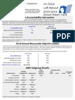 School Level Report Cards Jan2014