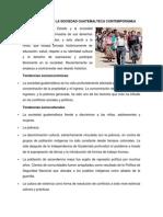 ESTRUCTURA DE LA SOCIEDAD GUATEMALTECA CONTEMPORÁNEA