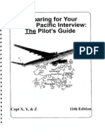 Cathay Pacific Interview Book
