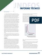 informe tecnico de Alñineacion