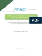 Copywriter Writing Sample-White Paper- EV Charging at Hotels Boosts Revenue