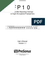 Prsfp10 Manual
