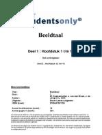 Beeldtaal H1-H11