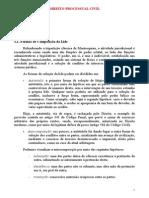 Direito Processual Civil Xx