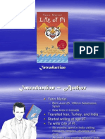 Life of Pi Introduction PowerPoint