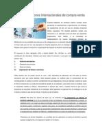 IVA en Operaciones Internacionales de Compra