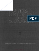Izvoare Privind Istoria Romaniei Vol 2
