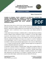 Seregno - Comunicato stampa GdF su chiusura indagini che vedono coinvolto l'ex vicesindaco Attilio Gavazzi