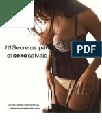 10 Secretos Para El Sexo Salvaje