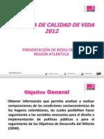 ECV2012 Region Atlantica