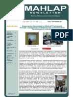 MAHLAP Newsletter