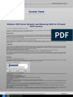 Windows 2003 Server Network Load Balancing Nlb for Iis Based Smtp Services