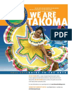 We Are Takoma - Fall 2013 Guide to the Arts