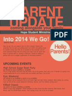 January Parent Newsletter