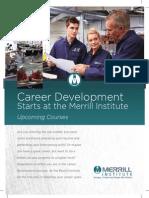 Merrill Institute CareerDevelopment 03.03.14