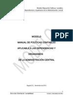 Manual Politicas Contables Modelo a Central 2012 Ver 1