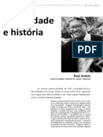 Antelo, Raul - Diversidade e história