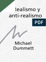 59110491 Dummett Michael Realismo y Anti Realismo