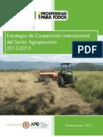 Estrategia de Cooperacion Internacional Del Sector Agropecuario 2013 2015