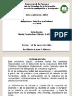 Presentación-Práctica Docente
