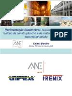 Pavimentação Sustentável -  Valmir Bonfim