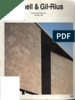 Catalogos de Arquitectura Contemporanea - Bonell & Gil-Rius
