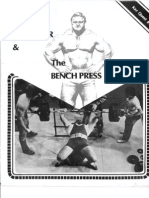 Bill Kazmaier & The Bench Press