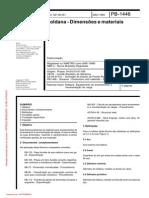PB-1446 Roldanas Dimensões e Materiais