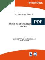 Informe Mantenimiento Red de Comunicaciones Microondas Hospital de Chapinero