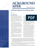 2010 State Business Tax Climate Index