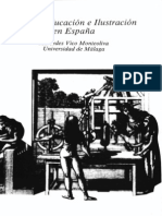 VICO MONTEOLIVA, Mercedes. Utopía, educación e Ilustración en España