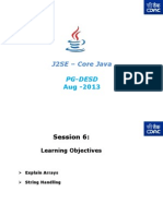 J2SE - Core Java - PG-DAC - Session- 6v1