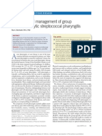 Diagnosis and Management of Group a Beta Hemolytic.12