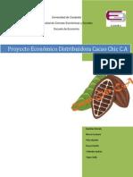 Proyecto Económico Distribuidora Cacao Chic C