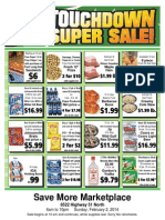 Super One Day Sale Feb 2 2014