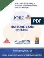 Código JORC