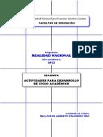 SEPARATA 2012 Realidad Nacional