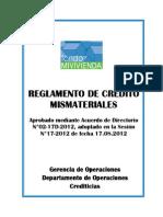 Reglamento-MISMATERIALES