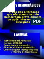 ALTERAÇÕES HEMORRAGICAS
