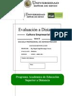 1 Examen a Distancia Cultura Empresarial - ADMIN.