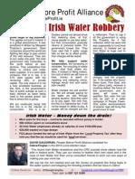 Great Irish Water Robbery