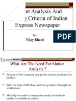 Indian Express Market Anaalysis