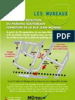 Fermeture rue Jean-Monnet