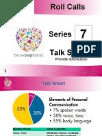 Series 7 - Talk Smart