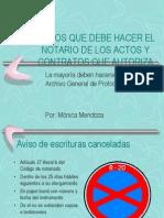 AVISOS QUE DEBE HACER EL NOTARIO DE LOS.ppt