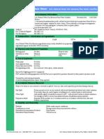 Clarifier Dry Bacteria Plus MSDS
