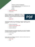 Cuestionario Taller Marta Ladino 16 de Agosto